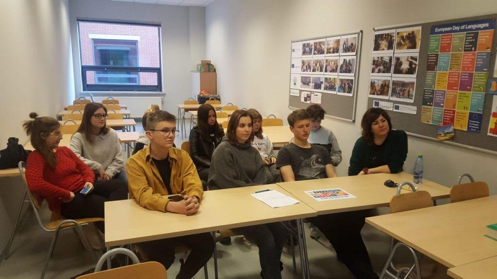 Debate with Polish Students